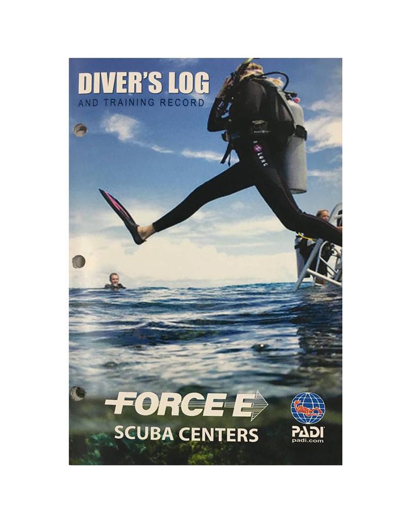 Force-E Force-E Divers Log Book