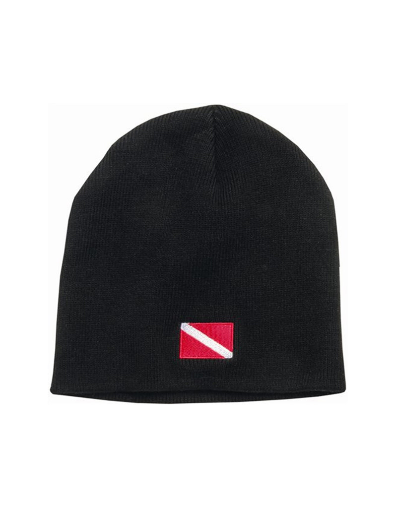 Trident Hat Dive Flag Knit Cap