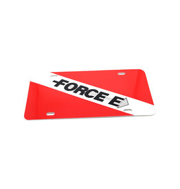 Force-E Scuba Centers Force-E Scuba License Plate