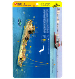Reef Smart/Mango Media Reef Smart Wreck Map RSB-1