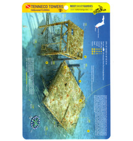 Reef Smart/Mango Media Reef Smart Wreck Map Tenneco Towers