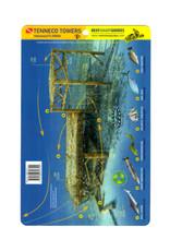 Reef Smart/Mango Media Reef Smart Wreck Map Tenneco Towers