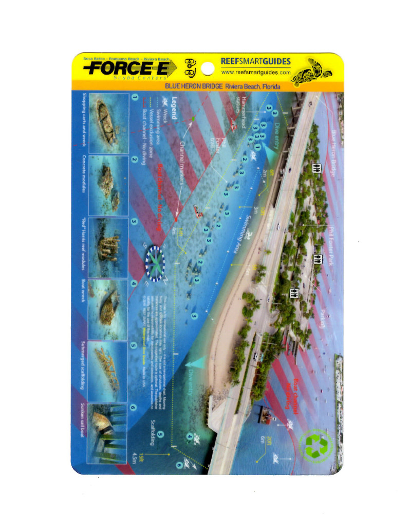 Reef Smart/Mango Media Reef Smart Wreck Map BHB