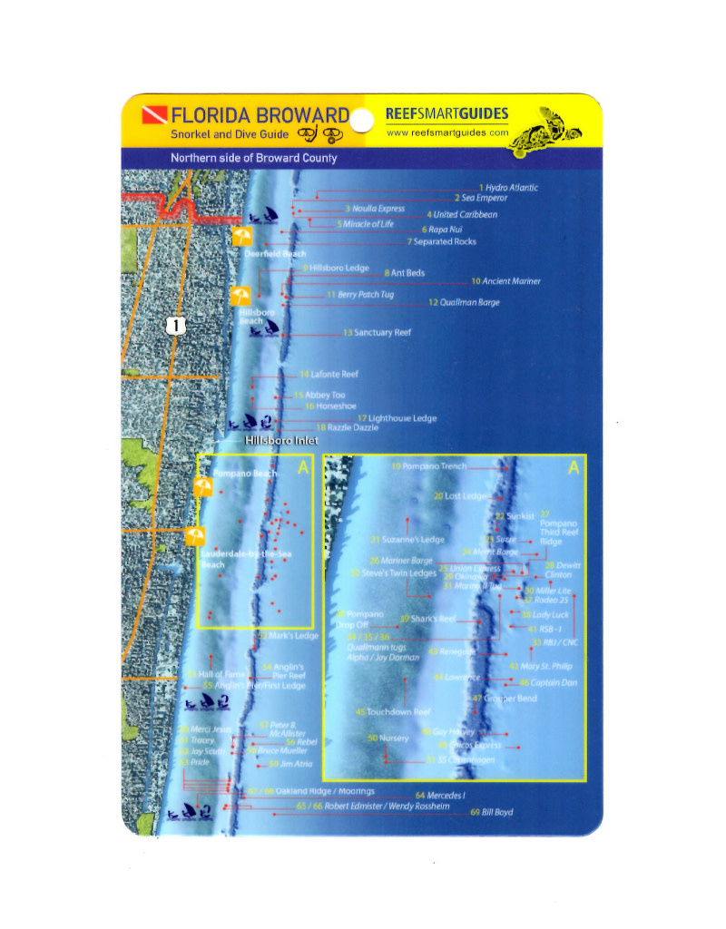 Reef Smart/Mango Media Reef Smart Wreck Map All Sites