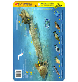 Reef Smart/Mango Media Reef Smart Wreck Map Guy Harvey