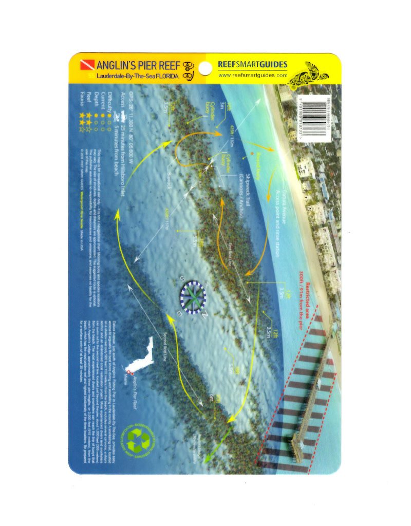 Reef Smart/Mango Media Reef Smart Wreck Map Anglin's Pier