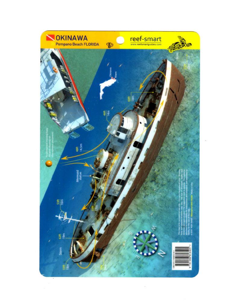 Reef Smart/Mango Media Reef Smart Wreck Map Okinawa