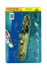 Reef Smart/Mango Media Reef Smart Wreck Map Captain Dan
