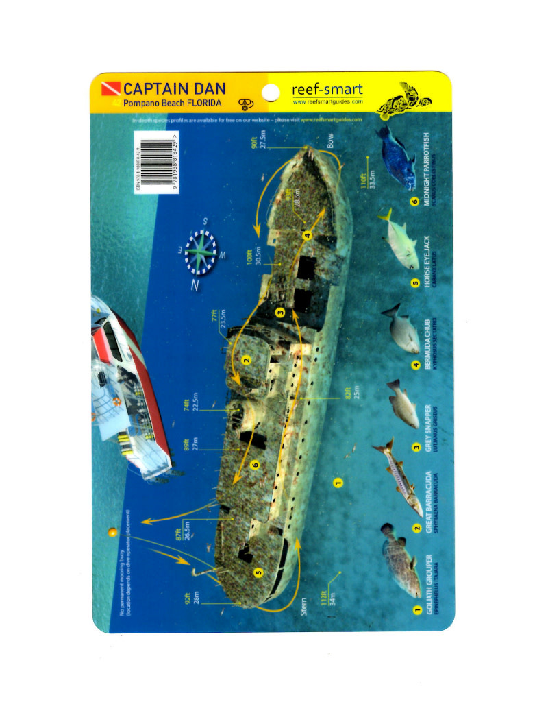 Reef Smart/Mango Media Reef Smart Wreck Map Captain Dan