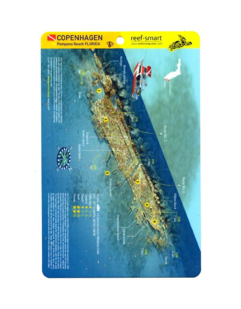 Reef Smart/Mango Media Reef Smart Wreck Map Copenhagen