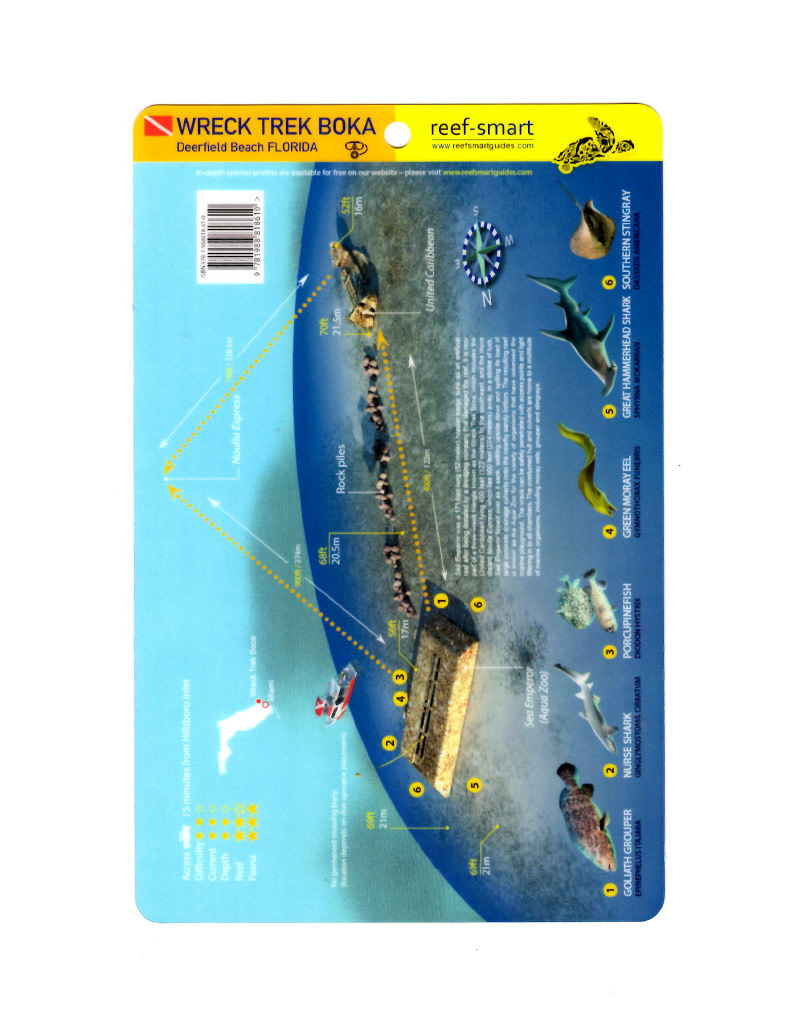 Reef Smart/Mango Media Reef Smart Wreck Map Sea Emperor