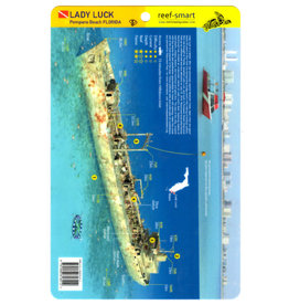 Reef Smart/Mango Media Reef Smart Wreck Map Lady Luck