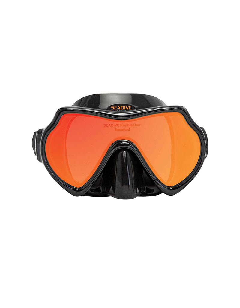 XS Scuba SeaDive EagleEye Rayblocker HD Mask w Purge