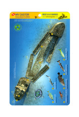 Reef Smart/Mango Media Reef Smart Wreck Map MV Castor