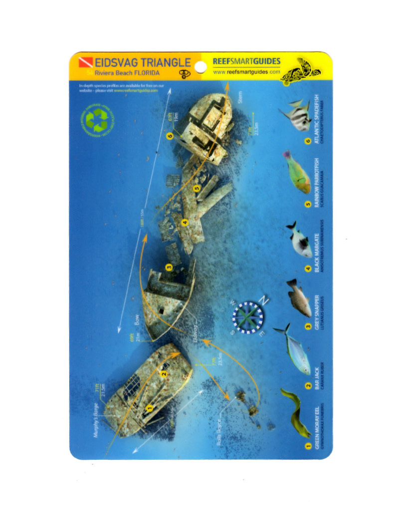 Reef Smart/Mango Media Reef Smart Wreck Map Eidsvag Triangle