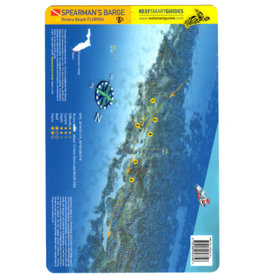 Reef Smart/Mango Media Reef Smart Wreck Map Spearman's Barge