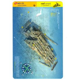 Reef Smart/Mango Media Reef Smart Wreck Map MG-111 and Warrior Reef