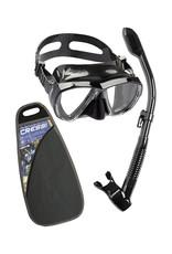 Cressi Cressi Big Eyes & Dry Snorkel Combo