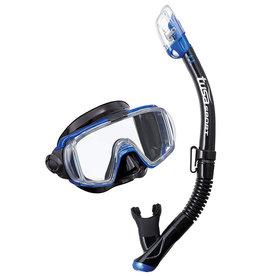 Tusa Tusa Visio Tri-Ex Adult Black Series Mask / Snorkel