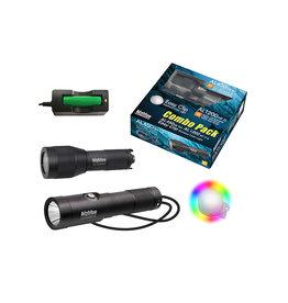 Bigblue Dive Lights BigBlue Combo Pack AL450NM AL1200NP & EZ Clip