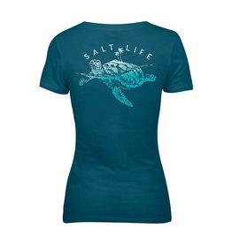 Saltlife LLC SaltLife Turtle Island Tee