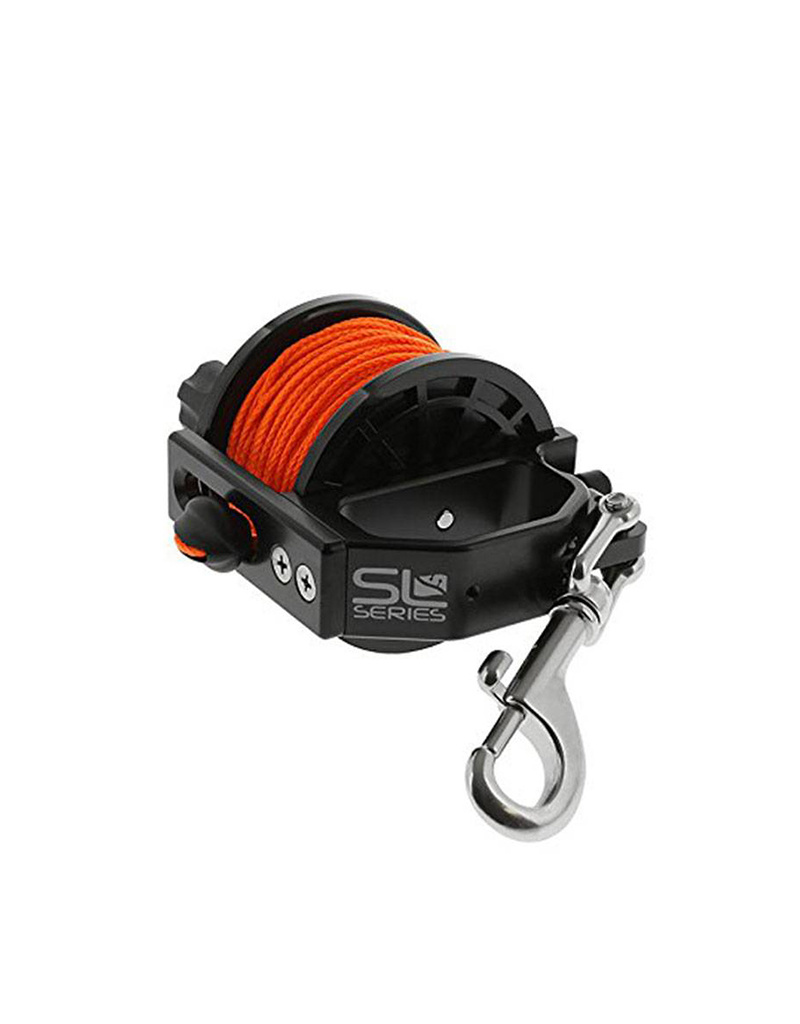 Dive Rite Dive Rite Reel Sidewinder Safety 140' Orange Line