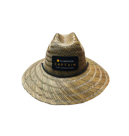 Flomotion Flomotion Straw Captain Hat