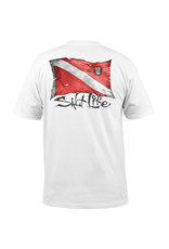 Saltlife LLC Salt Life Tshirt Dive Flag