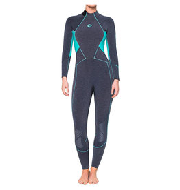 Huish Bare Womens 5mm Evoke Full Wetsuit