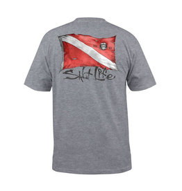 Saltlife LLC Saltlife Weathered Dive Flag TShirt