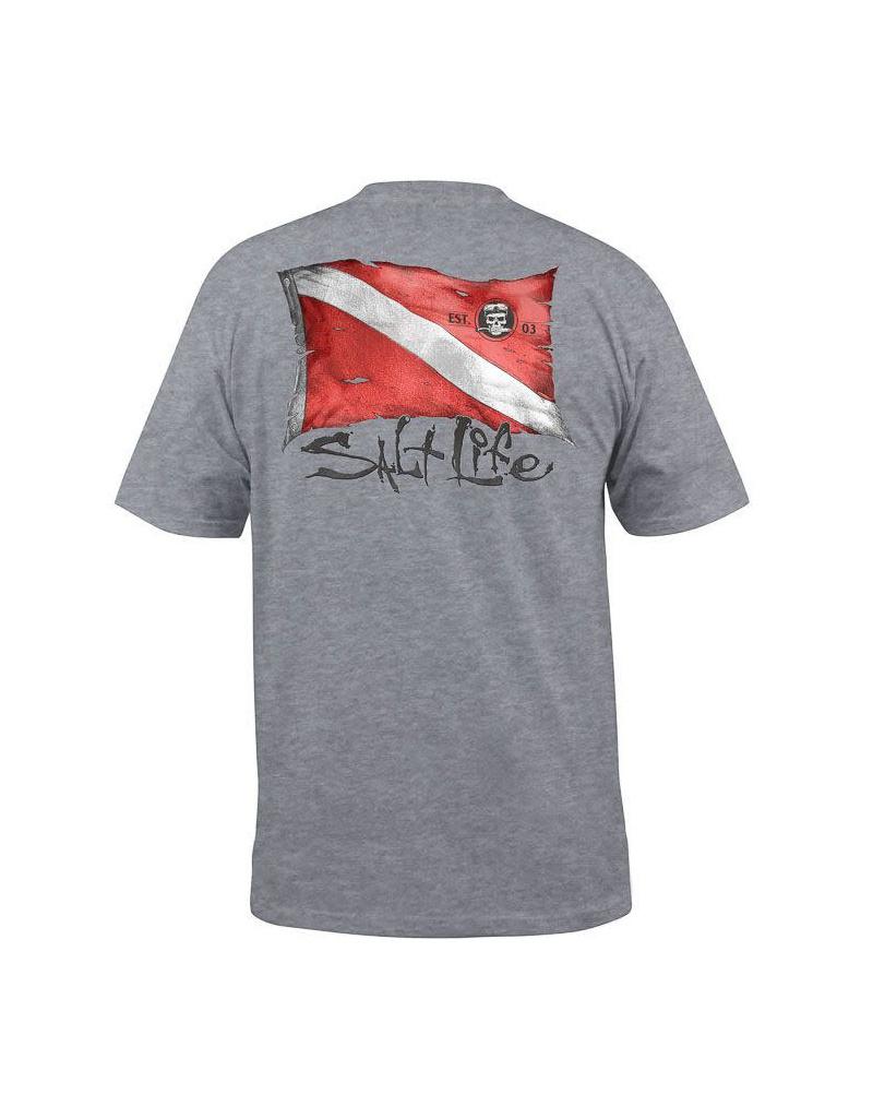 Saltlife LLC Saltlife S/s Weathered Dive Flag