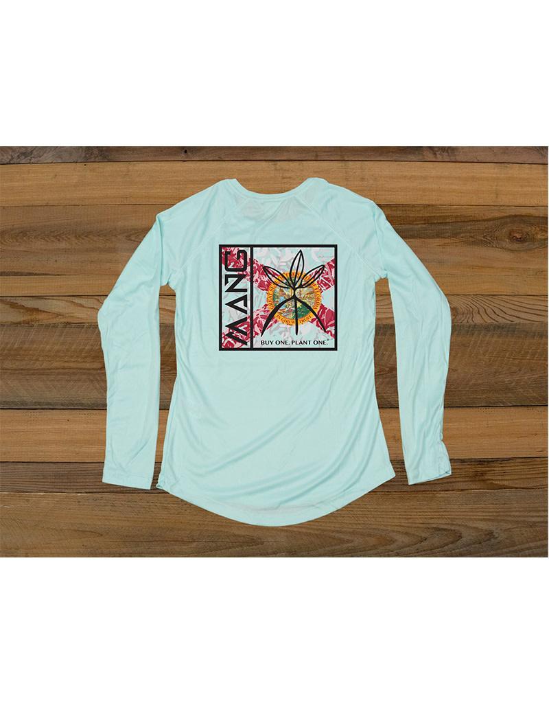 Mang LLC Mang Wmns LS T-shirt FL Mang