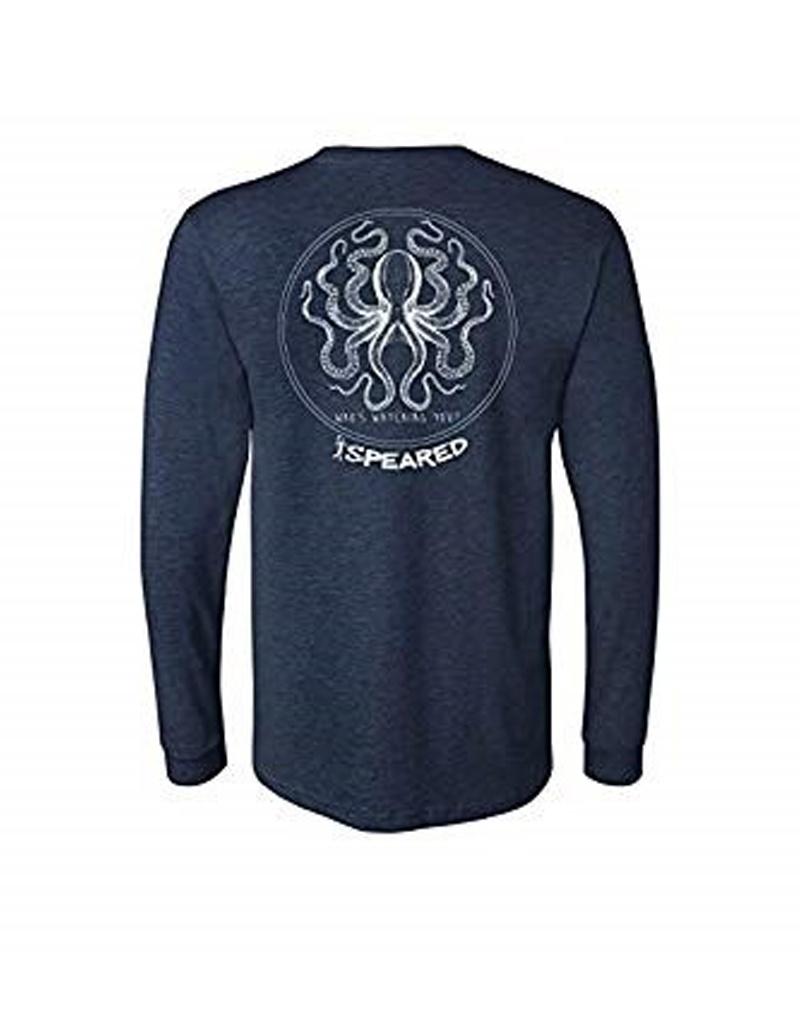 Born of Water Speared Kraken LS Shirt