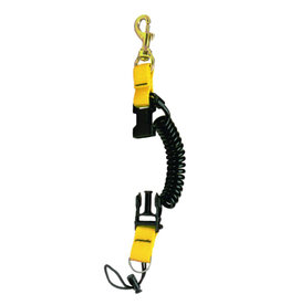 Innovative Scuba Concepts Innovative Snappy Coil w Brass Bolt Snap