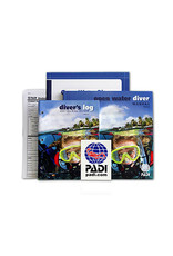 PADI PADI Open Water Crew-Pak w/Table Blue Logbook