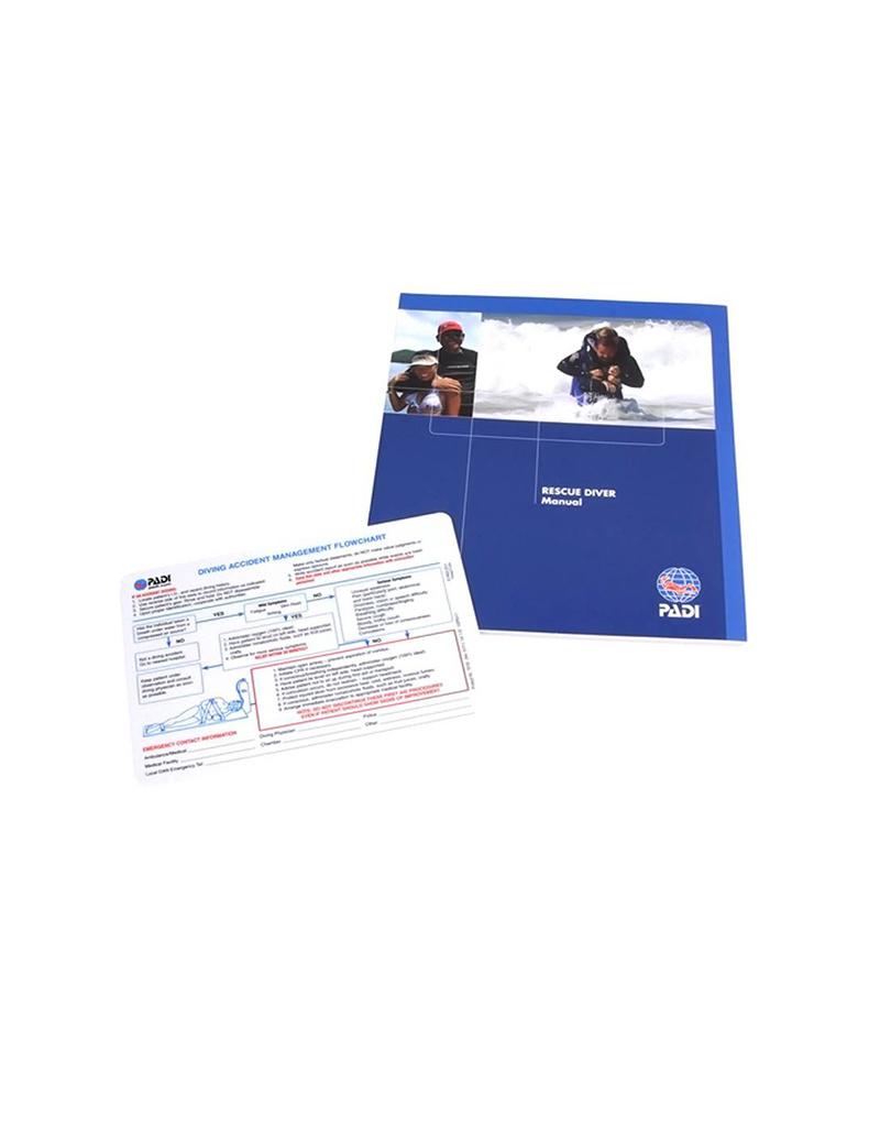PADI PADI Rescue Diver Manual w/Slate