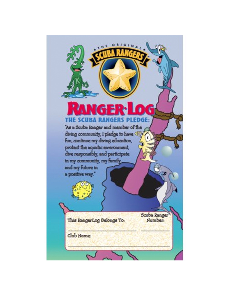 SSI SSI Scuba Rangers Log Book