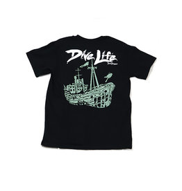 David Dunleavy Art LLC Dunleavy Ship Wreck Tshirt