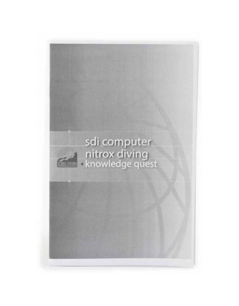 TDI / SDI / ERDI SDI Computer Nitrox Manual