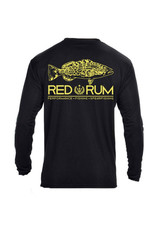 RedRum International RedRum LS Tshirt Grouper w/Ruler