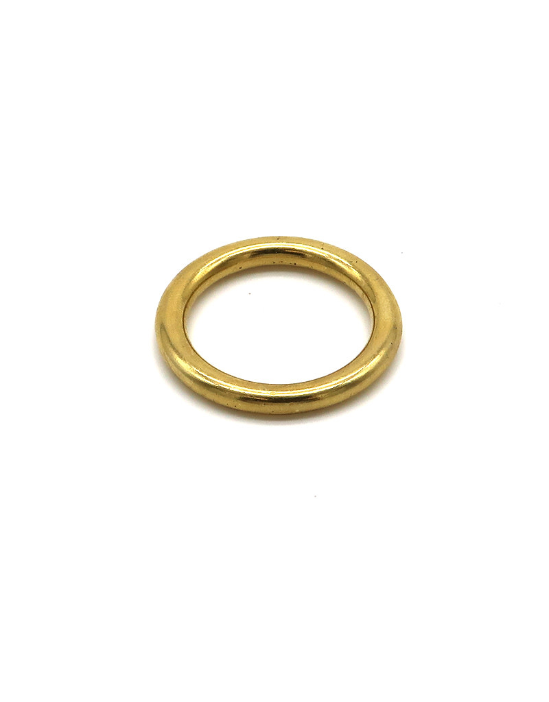 "Marine Sports Mfg. Marine Sports Ring Brass Ring Solid 1"""