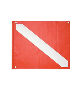 Marine Sports Mfg. Marine Sports Vinyl Dive Flag w/Stiffner 20 x 24