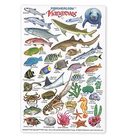 Marine Sports Mfg. Marine Sports ID Card - Mangroves