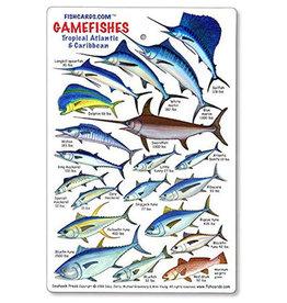 Marine Sports Mfg. Marine Sports ID Game Fish Card