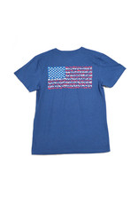 H2Overboard LLC H2O SS TShirt American Flag