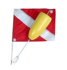 Marine Sports Mfg. Flag Torpedo Float & Flag