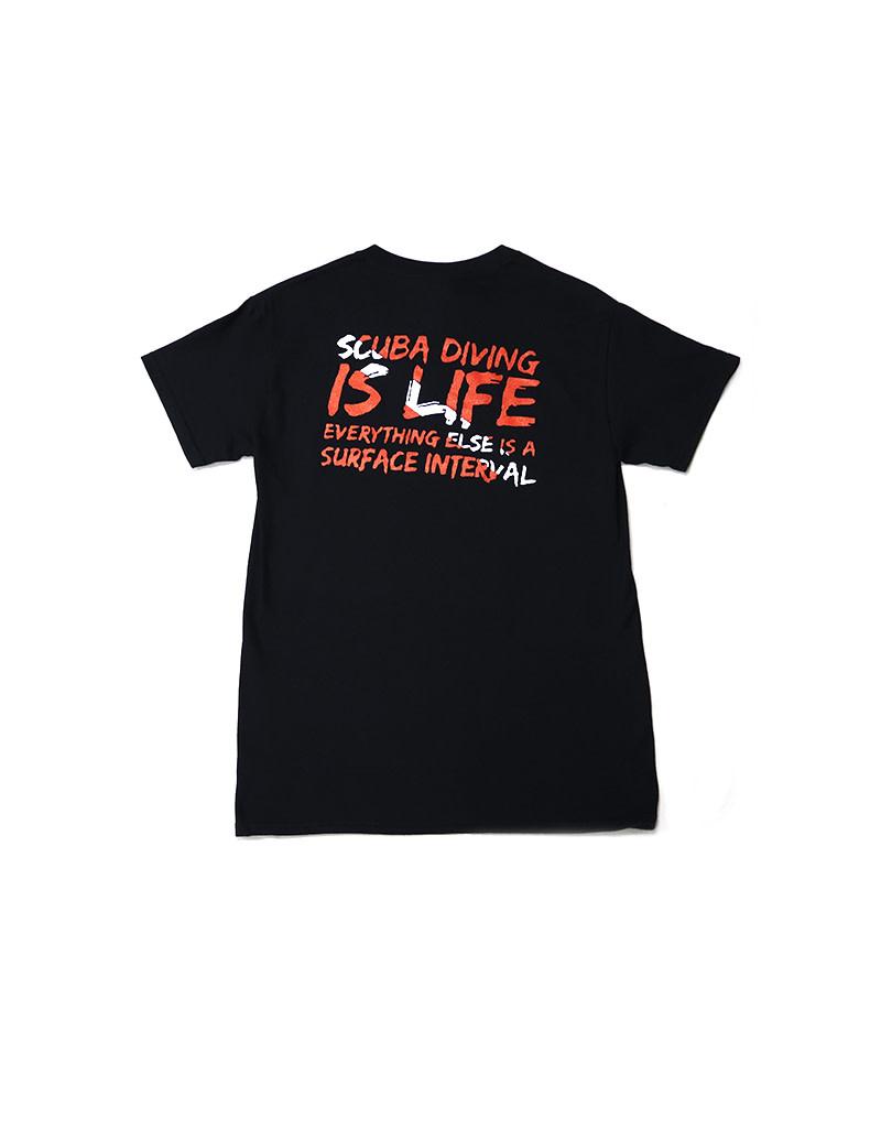 Ocean Zones Ocean Zones Scuba is Life Tshirt