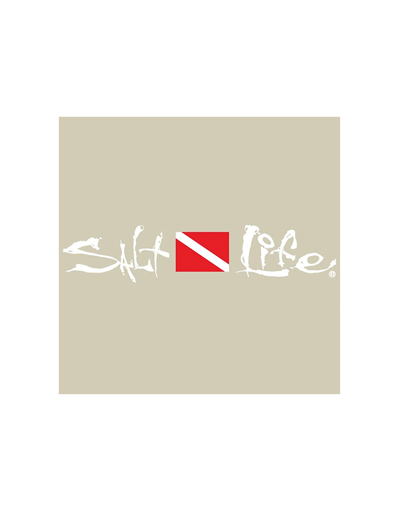 Saltlife LLC Salt Life Dive Flag Sticker