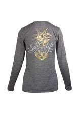 Saltlife LLC SaltLife ladies Sign Pineapple LS T