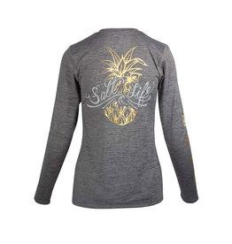 Saltlife LLC SaltLife ladies Sign Pineapple LS T